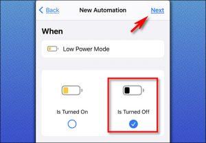 risparmio energetico dell'iPhone