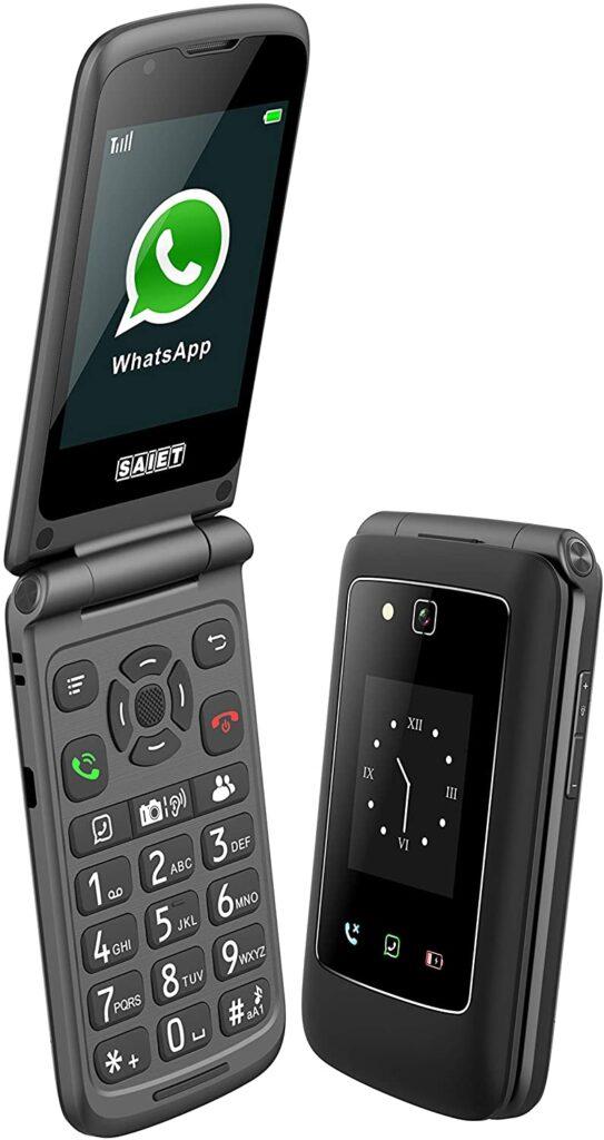 Saiet Link - smartphone a conchiglia economico
