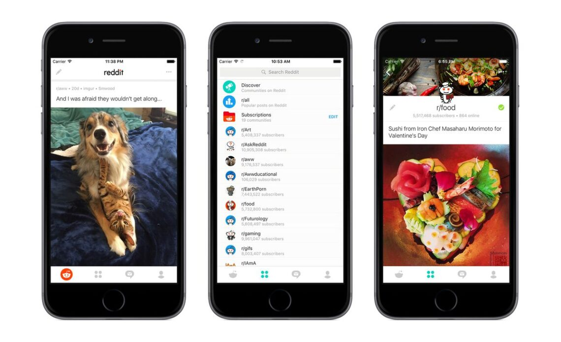 app Reddit per Android