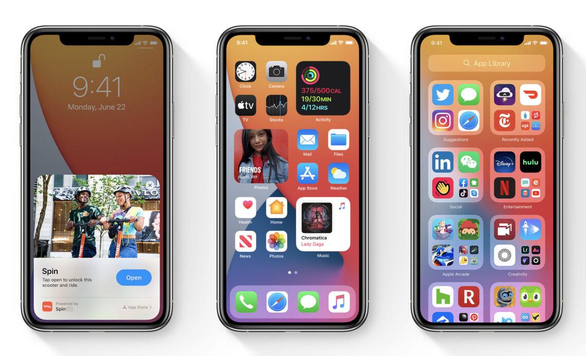 iOS 14 aggiornamento