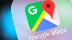 icona di navigazione in Google Maps