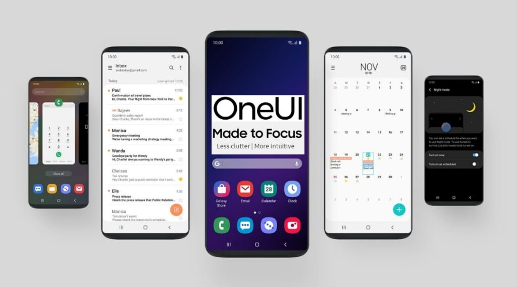 samsung android 11 one ui 3.0