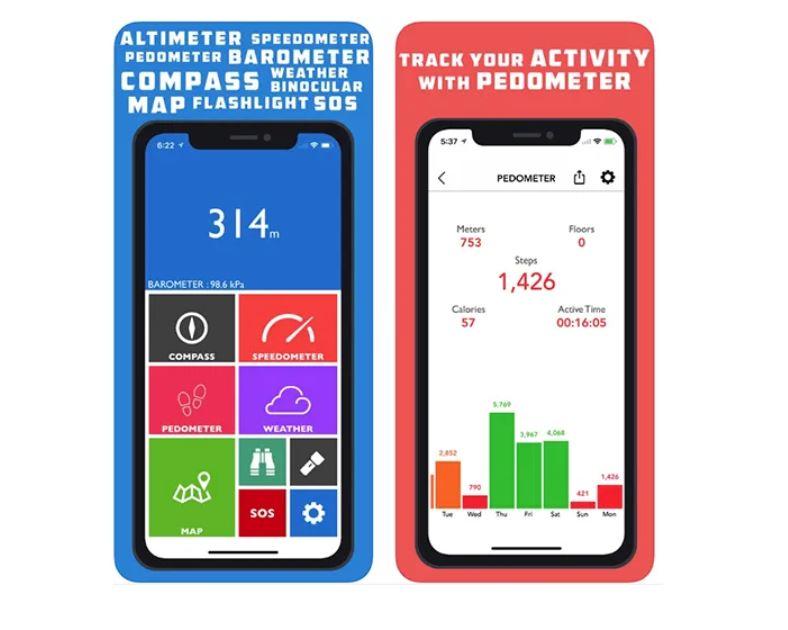 Altimeter GPS – Hike & Trek