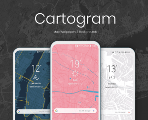 Cartogram app Android