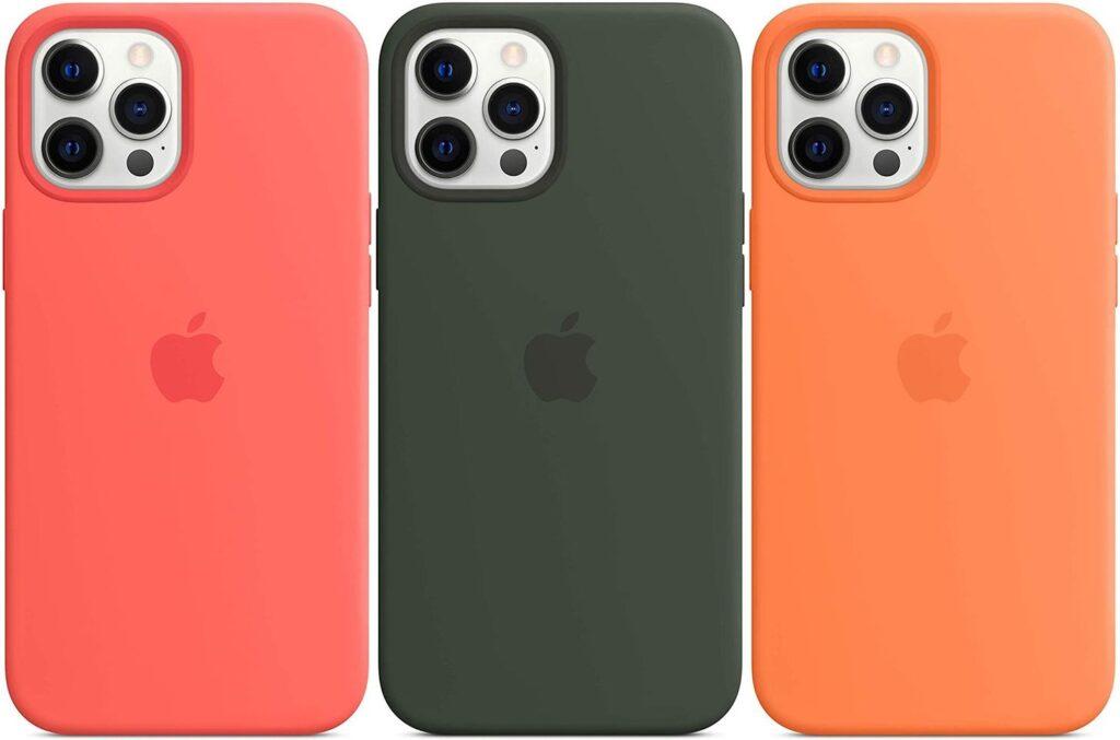 Custodia in silicone Apple con MagSafe
