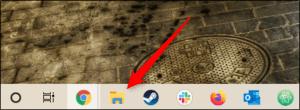 File explorer-icon-in-taskbar