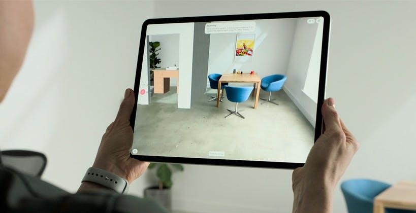 LiDAR iPad