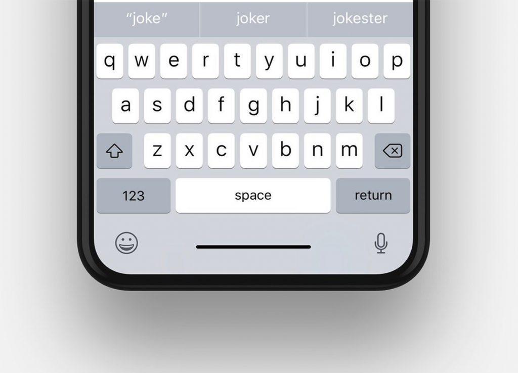 Problema con la tastiera iOS 14