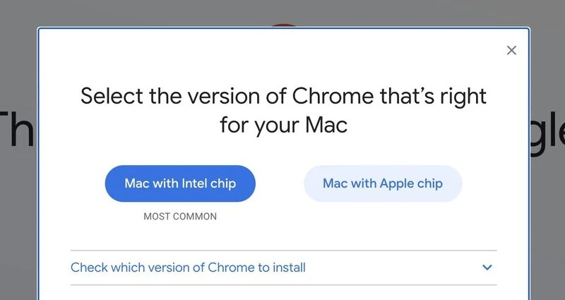 google chrome mac apple silicon