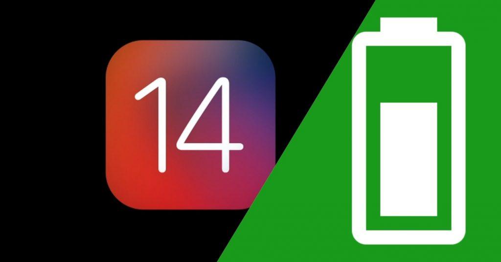 iOS 14 batteria