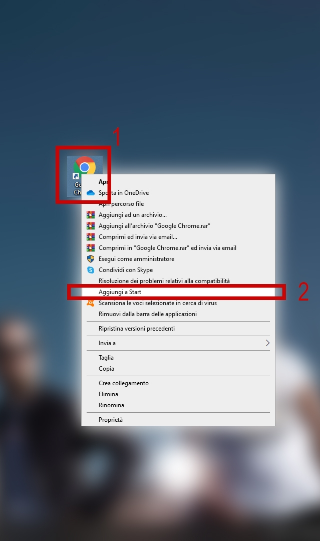 Aggiungere un'applicazione al menu Start di Windows 10 (personalizzare il menu Start)