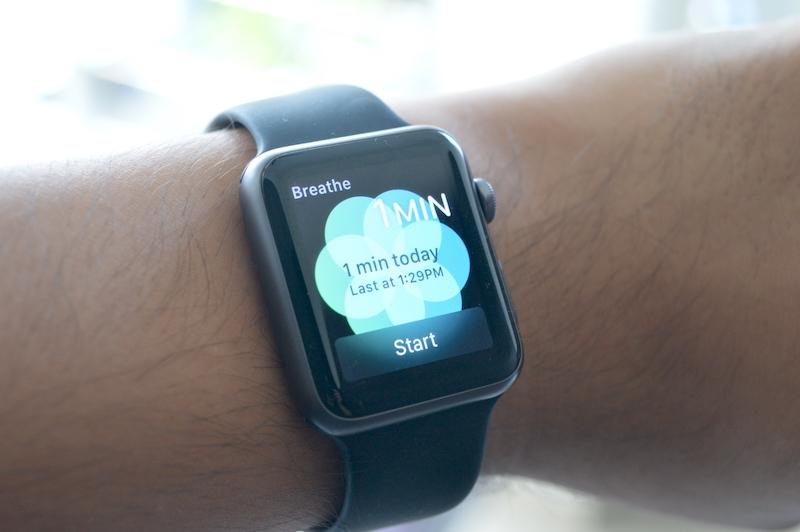 Apple Watch Promemoria Respirazione