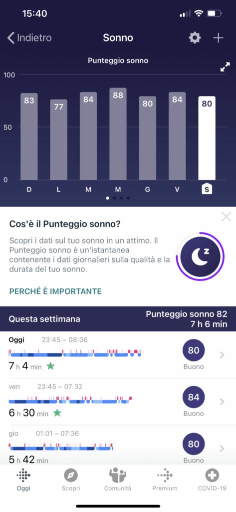 app fitbit - versa 3 - 2
