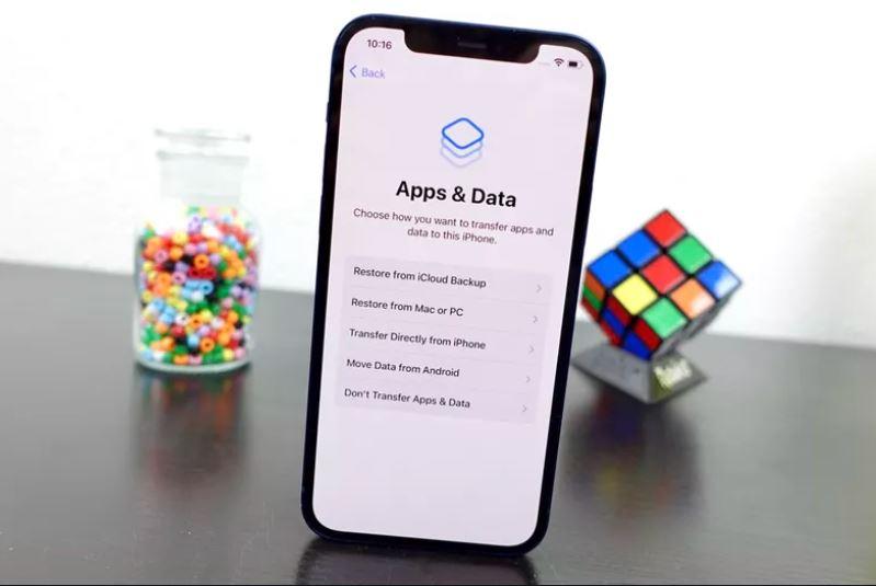 iPhone 12 trasferire dati
