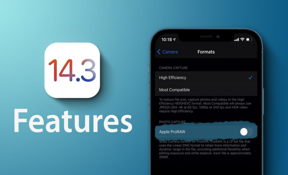 ios 14.3 apple iphone