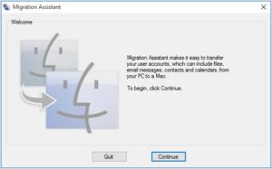 migration assistant windows