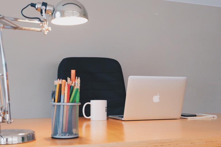 ufficio domestico ergonomico
