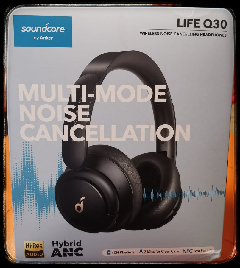 Soundcore Life Q30 scatola