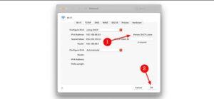 rinnovare indirizzo IP Mac
