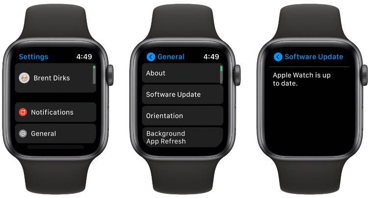 aggiornare software apple watch