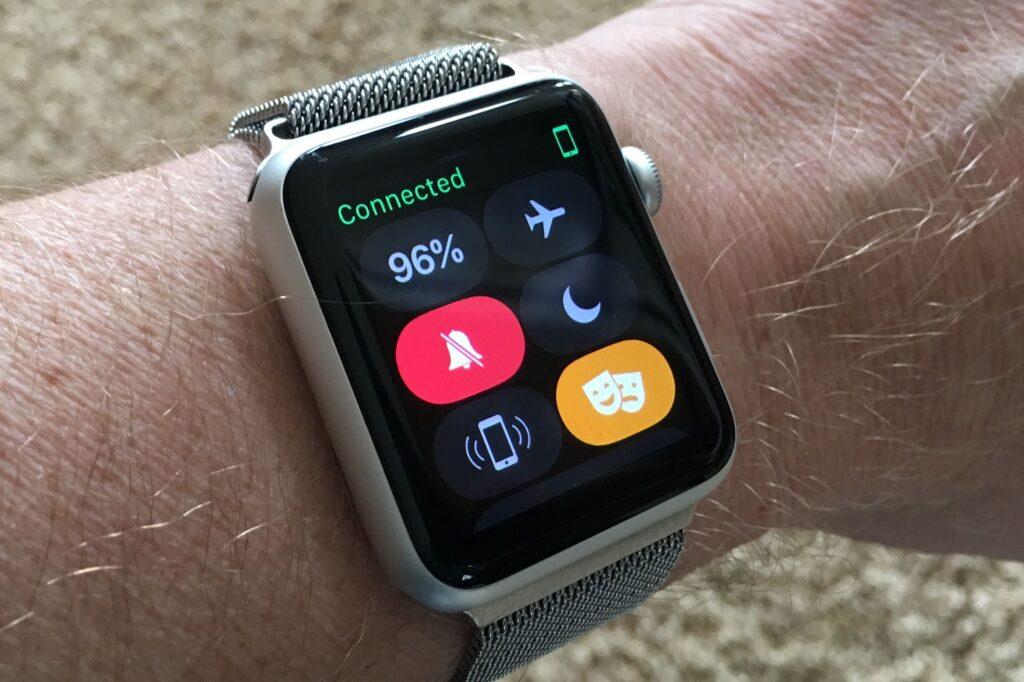 apple watch - come attivare la modalità teatro