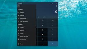 calcolatrice windows
