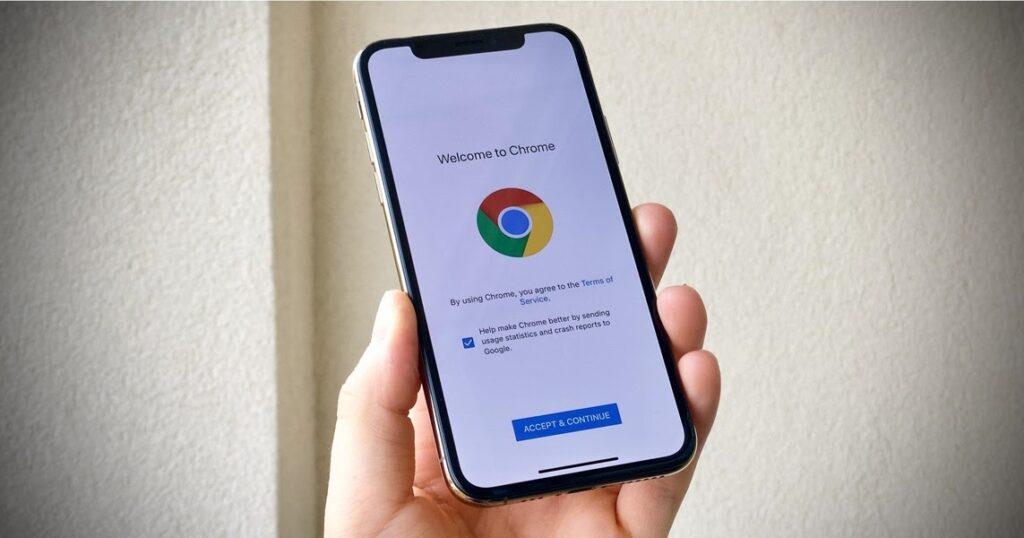 iPhone gesti nascosti per Google Chrome