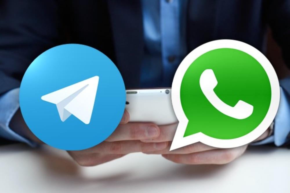 trasferimento telegram whatsapp chat