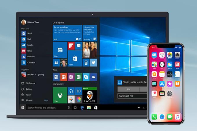 trasferire video da iphone a windows 10