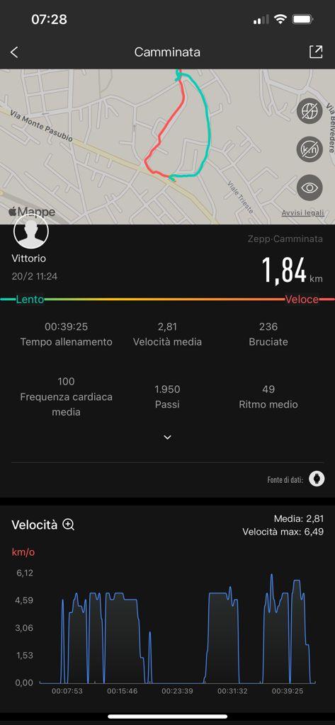 Amazfit GTR 2e - app zepp 3