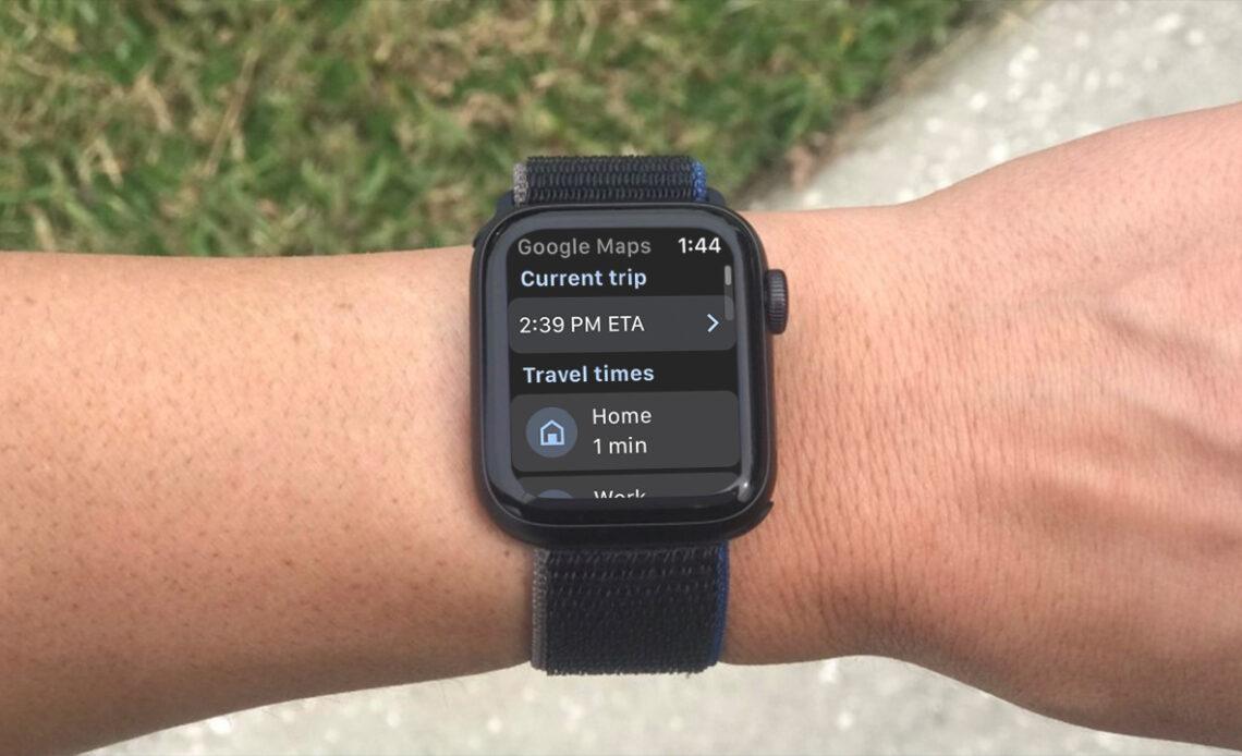 Google Maps su Apple Watch