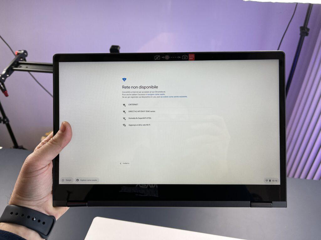 Il display da 13,3 pollici FullHD IPS di Lenovo IdeaPad Flex 5