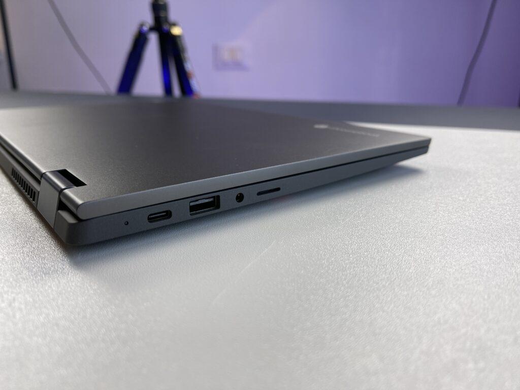 Lenovo IdeaPad Flex 5 Chromebook lato sinistro