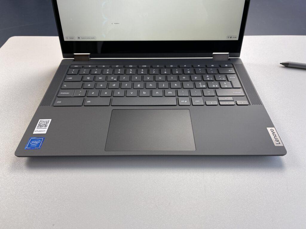 Lenovo IdeaPad Flex 5 Chromebook tastiera low profile