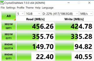 Orico iMatch IV300 - prestazioni 2