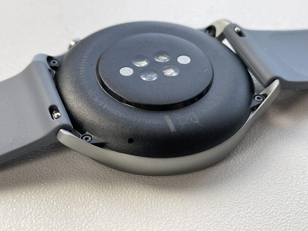 Recensione Amazfit GTR 2e - sensori