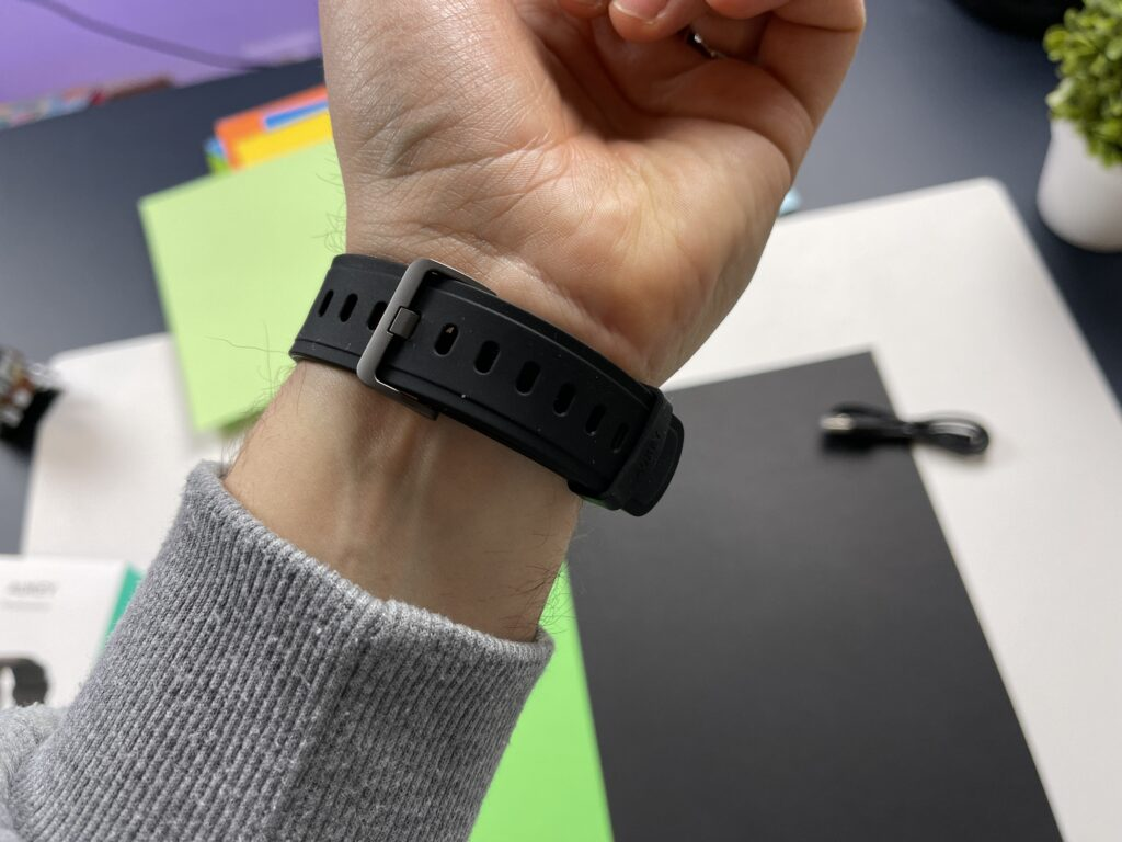 Recensione Smartwatch Aukey LS02 cinturino