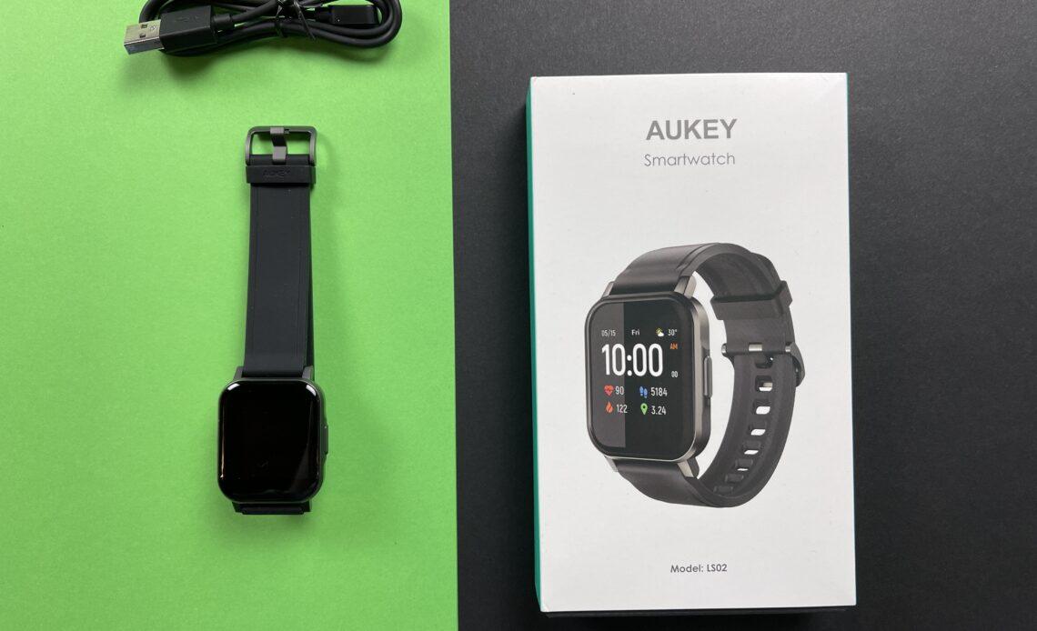 Recensione Smartwatch Aukey LS02 - confezione
