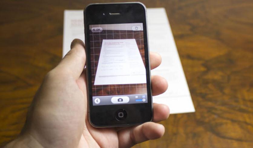 Scansionare foto da iPhone