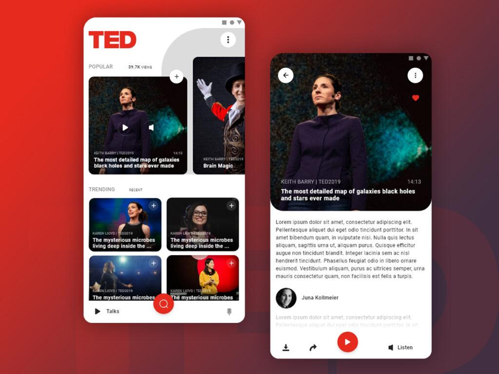 TED app educativa