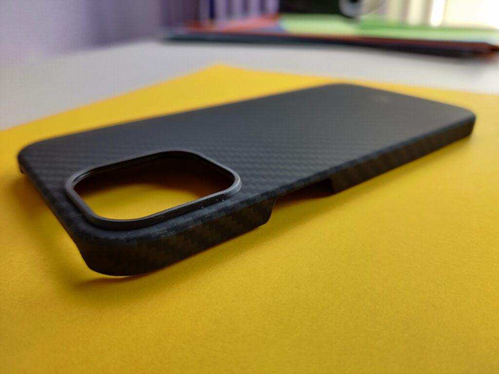 cover Pitaka per iPhone 12 pro max - protezione fotocamera