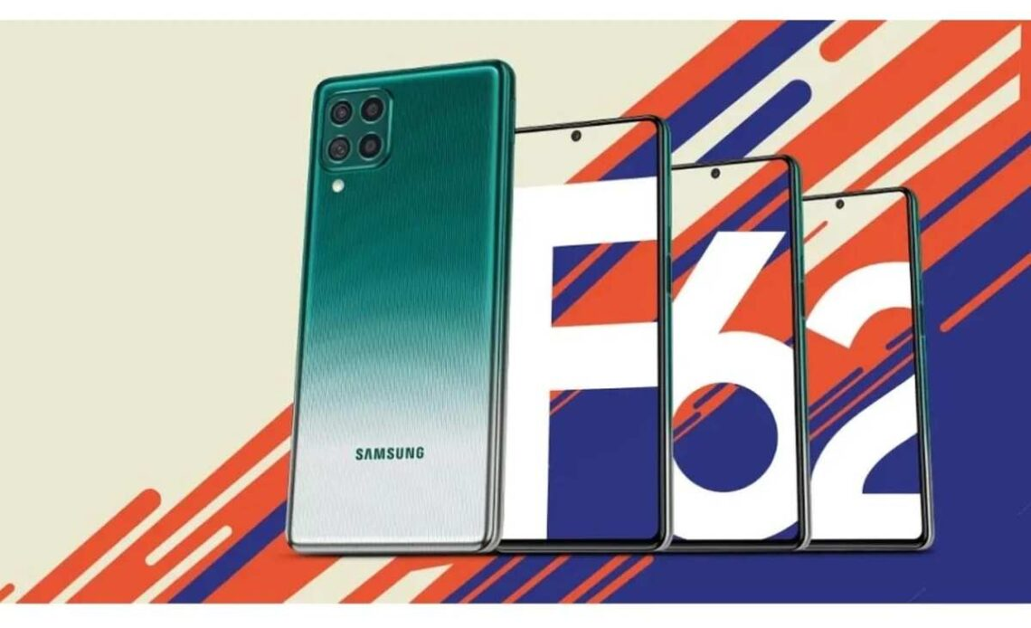 samsung galaxy F62 batteria