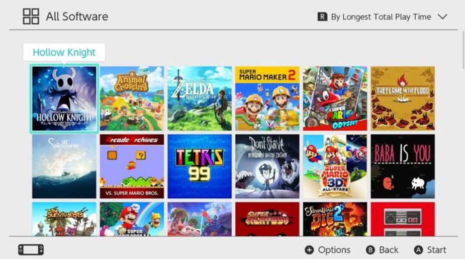 tempo di gioco Nintendo Switch
