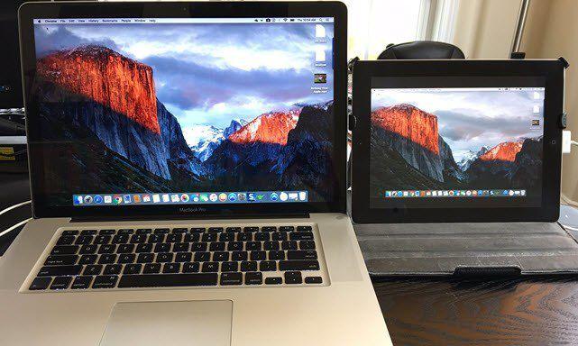 usare iPad come secondo display