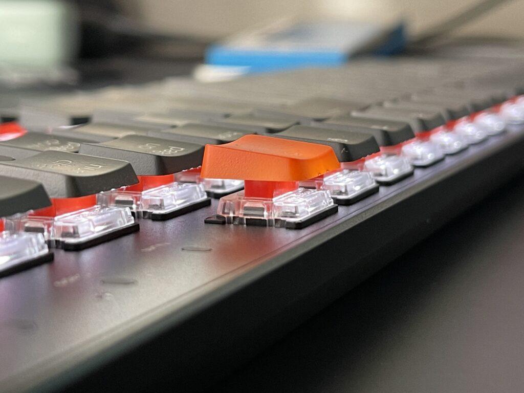 Keychron K1 switch gateron low profile red