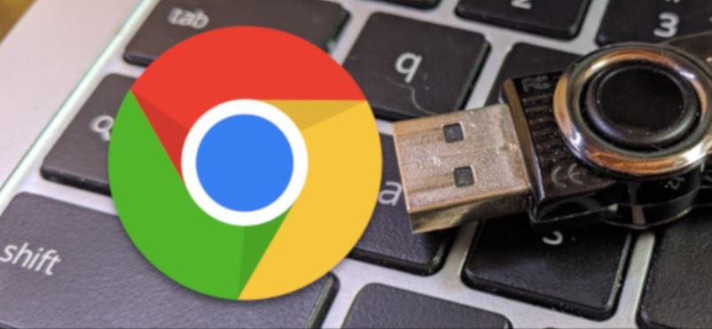 Rimuovere unità USB Chromebook