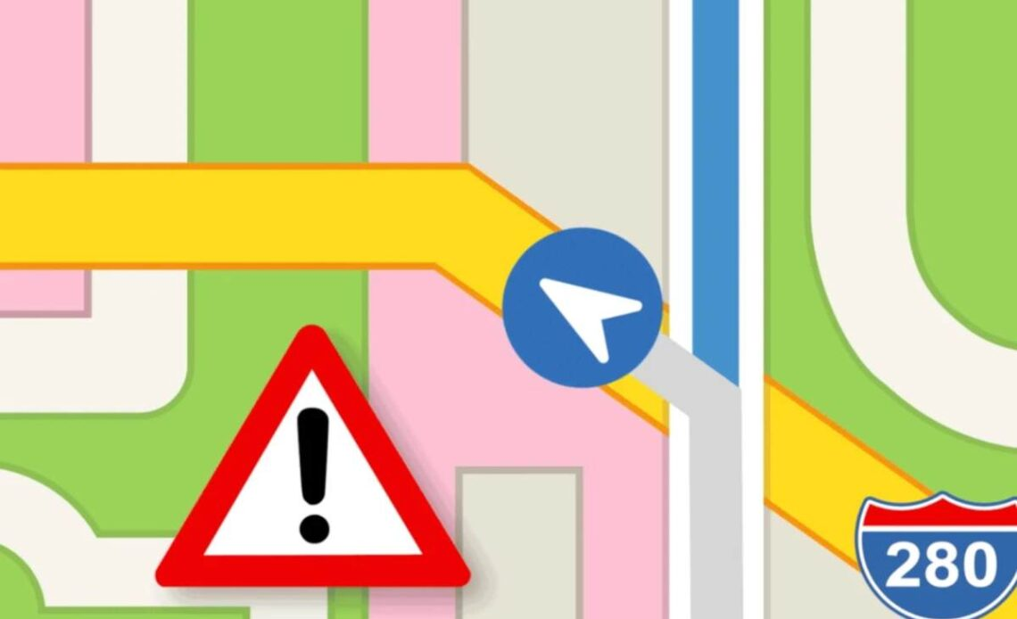 apple maps affollamento