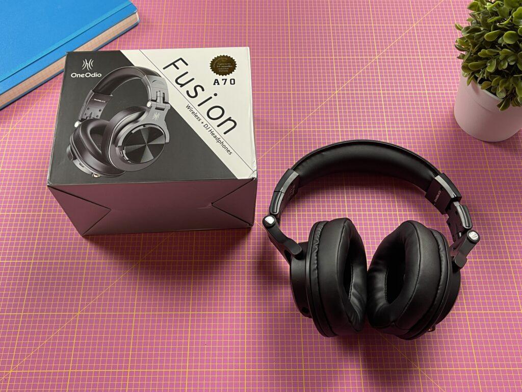 cuffie over ear oneodio a70 - confezione