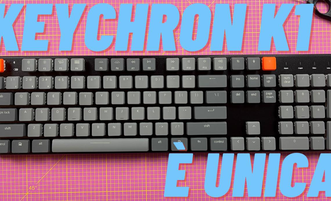 keychron k1 recensione