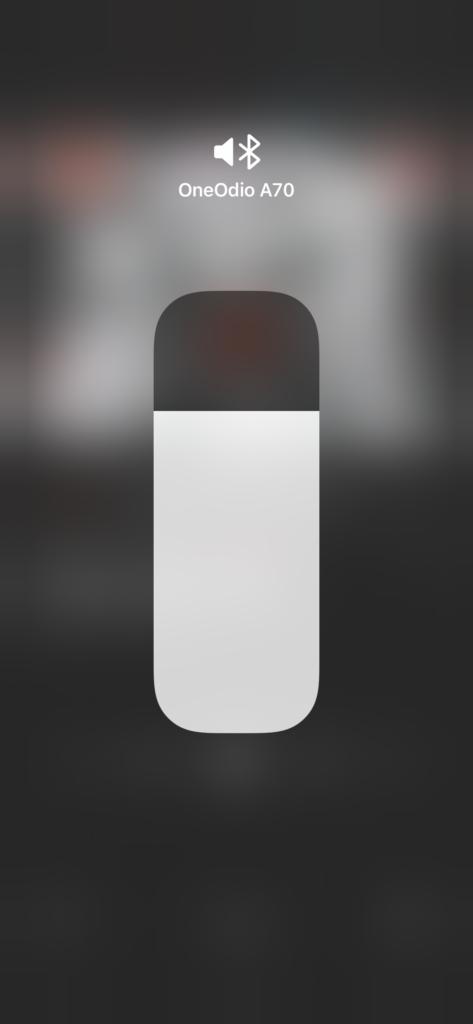 onedio a70 su iphone gestione volume